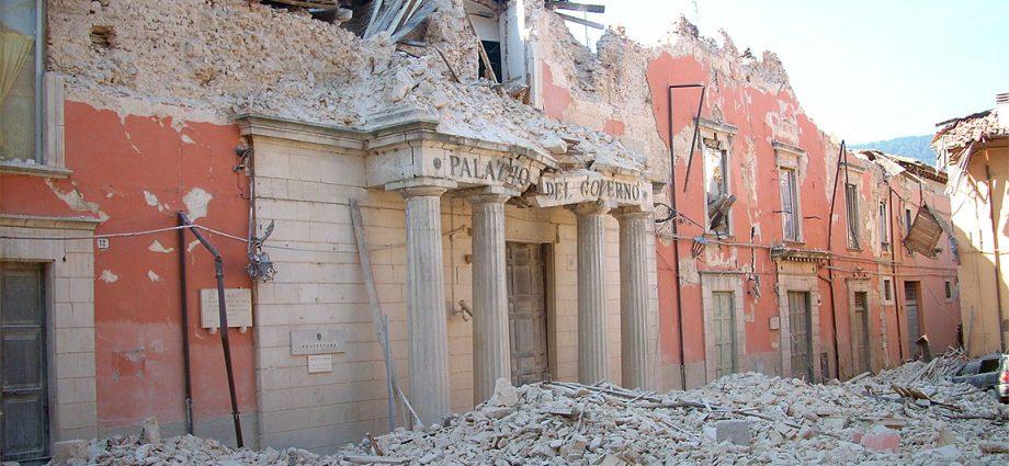Terremoto L'Aquila del 2009