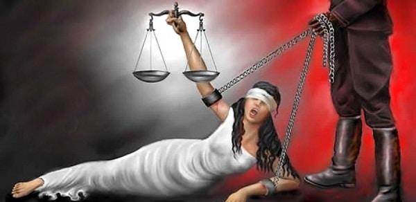 Giustizia bendata immagine