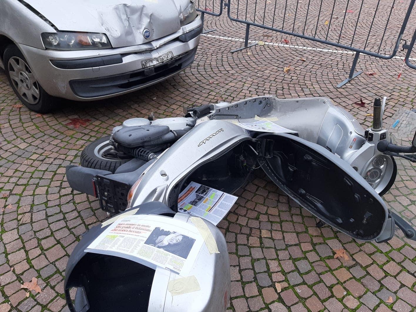 Giornata Mondiale Ricordo Vittime Strada – La simulazione di uno scontro stradale per riflettere