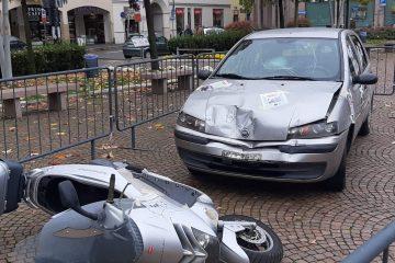Sinistri stradali a Parabiago, i dati della P.L. 2