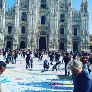Manifestazione Pagina Bianca Milano