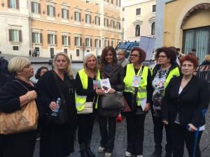 Manifestazione contro indulto roma