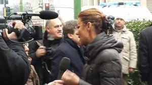 """Barbara Benedettelli Manifestazione """"Non suicidatevi ribellatevi"""""""