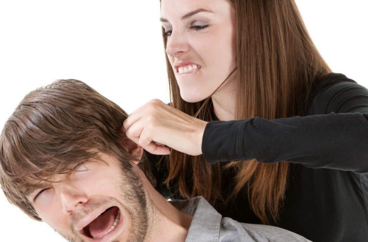 Violenza femminile contro gli uomini